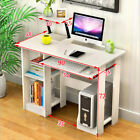 Computer Desk Laptop PC Writing Table Shelf Study Workstation Office 120CM Wide