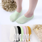 US 10 Pairs Womens Cotton Casual No Show Invisible Multi-Color Loafer Boat Socks