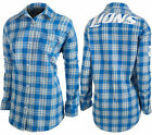 Forever Collectibles NFL Women's Detroit Lions Check Flannel Shirt on eBay