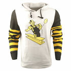 FOCO NFL Men's Pittsburgh Steelers Retro Knit Sleeve Hooded Sweater $39.95 USD on eBay