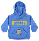 OuterStuff NBA Infant and Toddler's Denver Nuggets Fleece Hoodie, Blue on eBay