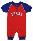 "Majestic MLB Infant Texas Rangers ""Game Time"" Coverall on Ebay"