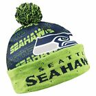 Forever Collectibles NFL Adult's Seattle Seahawks Light Up Printed Beanie $19.99 USD on eBay