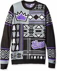 Klew NBA Men's Sacramento Kings Patches Ugly Sweater, Purple on eBay