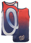 Klew MLB Men's Washington Nationals Big Logo Tank Top Shirt on Ebay