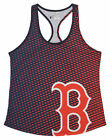 Forever Collectibles MLB Women's Boston Red Sox Diamond Racerback Tank on Ebay