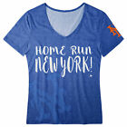 FOCO MLB Women's New York Mets Home Run V-Neck Tee on Ebay