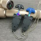 Multi function Knife Necklace Chain Self Defense Survival Tactical Outdoor Tool