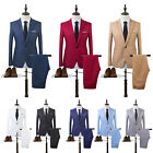 US Men Slim Fit Formal Business Tuxedos Suit Blaze Coat Pants Party Wedding Prom