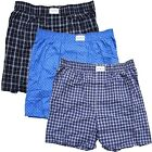 Tommy Hilfiger Underwear Men's Loose Fit Woven Cotton Boxer Short 3 PACK BOX