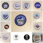 GOLF BALL MARKERS - BULLDOGS, SOUTHS, ST GEORGE, Eels  + MORE,  ADD A  HAT CLIP