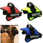 No Pull Large Extra Big Dog Pet Vest Harness W/ Removable Patches L XL XXL Size