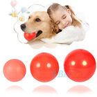 Boomer Red Ball Indestructible Solid Pet Dog Cat Puppy Rubber Play Chew Toy Gift