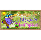 Spring Wood Signs - Spring is Here - GS 1044- Easter Decor