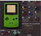 Nintendo GameBoy Color GBC Replacement Shell + Lens -Pick Shell/ButtonColor!