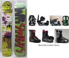 """NEW GRAY """"R.P.M."""" SNOWBOARD, BINDINGS, BOOTS PACKAGE - 153cm"""