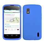 LG Google Nexus 4 Silicone Skin Rubber Soft Case Phone Cover