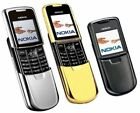 Nokia 8800 GSM Unlocked 64MB TFT Bluetooth Cell Phone Gold/Silver/Black