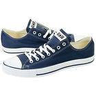 NEW Converse Chuck Taylor All Star OX Low Men's 12 Navy Blue White Canvas X9697
