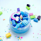 Slime Rainbow Candy Cloud Clay Scented Sludge Fluffy Floam Mud Fruit Charm Toy
