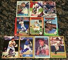 Various Atlanta Braves Signed Cards YOU PICK Autographs Combined Ship on Ebay
