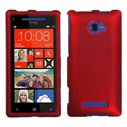 Red/Black/Pink/Clear Solid Phone Protector Case Cover For HTC Windows Phone 8X