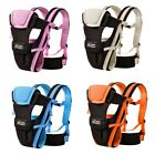 Newborn Baby Boys Girls Carrier Sling Wrap Versatile Backpack Front And Back Two