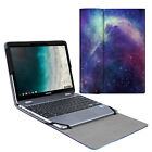 """For 12.2"""" Samsung Chromebook Plus V2 XE520QAB Sleeve Case Protective Book Cover"""