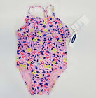 Внешний вид - NWT Toddler Girls Old Navy Size 18 24 Month 2t 3t or 4t Pink Flower Bathing Suit