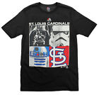 MLB Youth St. Louis Cardinals Star Wars Main Character T-Shirt, Black on Ebay