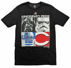 MLB Youth Cincinnati Reds Star Wars Main Character T-Shirt, Black on Ebay