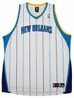 Adidas NBA Basketball Men's New Orleans Hornets Blank Jersey, White Striped on eBay