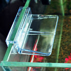 4X6/8mm Aquarium Fish Tank Plastic Clips Glass Cover Support Holders Clear _7