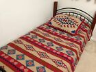 Southwest Santa Fe Lightweight Fleece Coverlet Bed Cover Blanket Sham Set Decor image