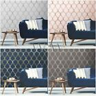 World Of Wallpaper Clifton Wave Geoemetric Metallic Rose Gold Silver Copper Navy