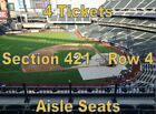 New York Mets vs Miami Marlins 9/24/19, 4 Tickets on Ebay