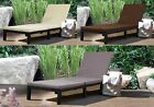 Westwood Rattan Day Chair Recliner Sun Bed Lounger Outdoor Garden Patio Srl02