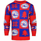 Forever Collectibles NBA Basketball Mens Philadelphia 76ers Patches Ugly Sweater on eBay