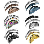 BodyJ4You 54PC Gauges Kit Ear Stretching 14G-00G Tapers Plugs Body Piercing Set image