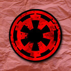 Galactic Empire Symbol Star Wars Sticker Imperial Darth Vader Sith $2.5 USD on eBay