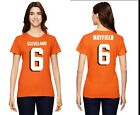 Baker Mayfield Cleveland Browns  Womens High Quality Graphic T-Shirt on eBay
