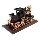 Classic Locomotive Music Box w/ Base Musical Figurine Adult Boys Collectible