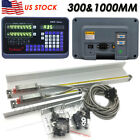 2Axis/3Axis Digital Readout DRO Display Linear Glass Scale Bridgeport Milling,US