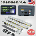 US 2Axis/3Axis Digital Readout Linear Glass Scale DRO Display Bridgeport Mill photo