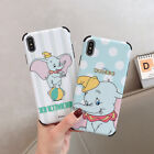 Cute Cartoon Disney polka dot Dumbo shockproof case for iPhone X XS Max 7 8 plus $6.98 USD on eBay