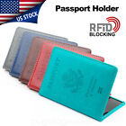 Kyпить Travel Leather Passport Organizer Holder Card Case Protector Cover Wallet US на еВаy.соm