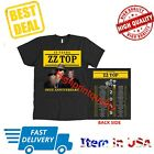 ZZ Top Shirt 50th Anniversary Tour 2019 T-Shirt Men Black Tee Size S-M-L-3XL  image