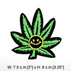 Funny Smoking Weed Sign Ganja reggae Rock Marley Clothing Jeans Iron on Patch