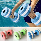 Dumbbell Aquatic Barbell 3 colors 27.4*15cm 115g EVA foam Water Weight Workout