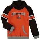 Cleveland Browns Outerstuff Youth Boys Robust Pullover Hoodie - Orange on eBay